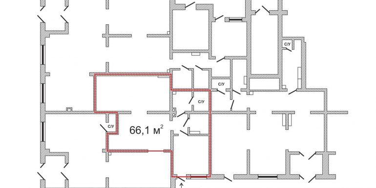 план 66,1м2