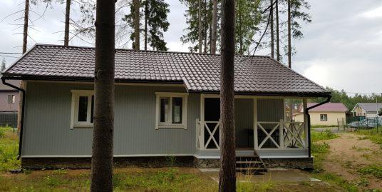 Продается жилой дом 62 м2 с участком 8 соток в СНТ «Родник» на берегу реки.