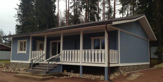 Продается новый жилой дом 120м2, уч. 13 сот со своим прудом с карасями