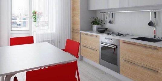 Квартира с полной отделкой в ЖК Моковский, 2 ккв. 48,08 м2, 2 оч., корп. 2