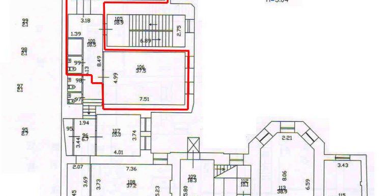 план 3 этажа 136,2 кв.м.