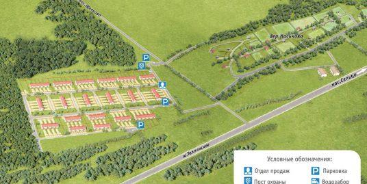 Продаются земельные участки в Ленинградской обл., Волосовский муниципальный район, д. Каськово. Участоки от 442м2 до 2345м2.