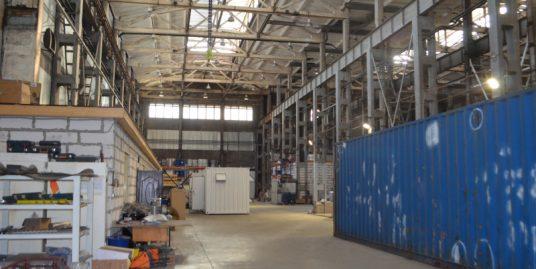 Аренда теплого складского помещения 2237м2, 1эт, h-14м на ул. Комсомола, дом 1-3