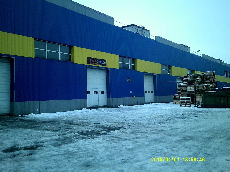 Сдается в аренду производственно-складское помещение 4930 кв.м. — 1 этаж, Парголово, ул. Железнодорожная 11