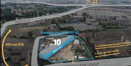 Продается отдельнос тоящее здание ул. Невельская, д.10, 1эт., площадь 1466,1 кв.м на участке 8007м2