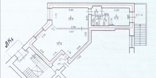 Сдается в аренду 67.8м2 на 1эт., помещение свободного назначения на ул. Типанова, д.4