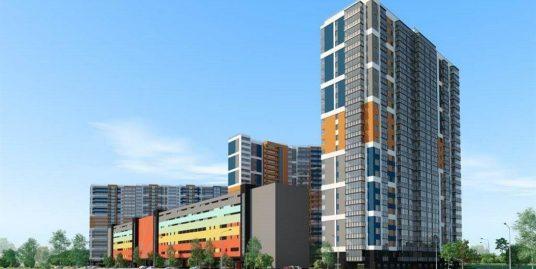Продажа квартиры-студии 23,7м2 с балконом на 10 этаже 24 этажного дома в ЖК «Полис на Комендантском», сдача 2кв 2020г.