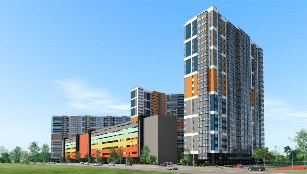 Продажа квартиры-студии 23,7м2 с балконом на 10эт. 24 эт. дома в ЖК «Полис на Комендантском», ул. Глухарская, сдача 2кв 2020г.