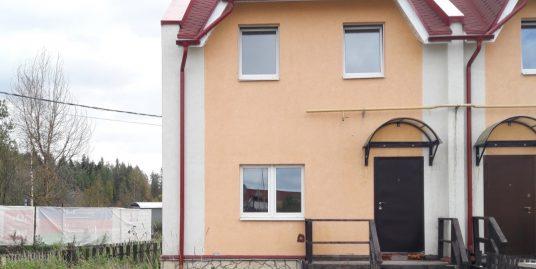 Продается таун-хаус 37,52м2, 2эт, уч. 1.14сот, НФ, в ЖК Кивеннапа Север, п. Первомайское.