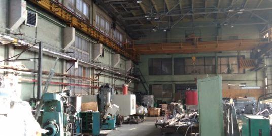 Сдается в аренду производственный блок с кран-балкой,1576.8м2, на 1эт. на ул. Комсомола, д. 1-3