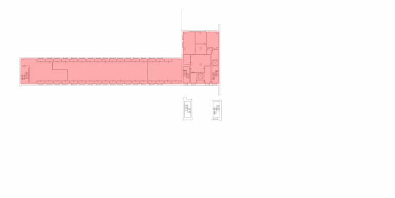 план 5эт, 880м2 без окон
