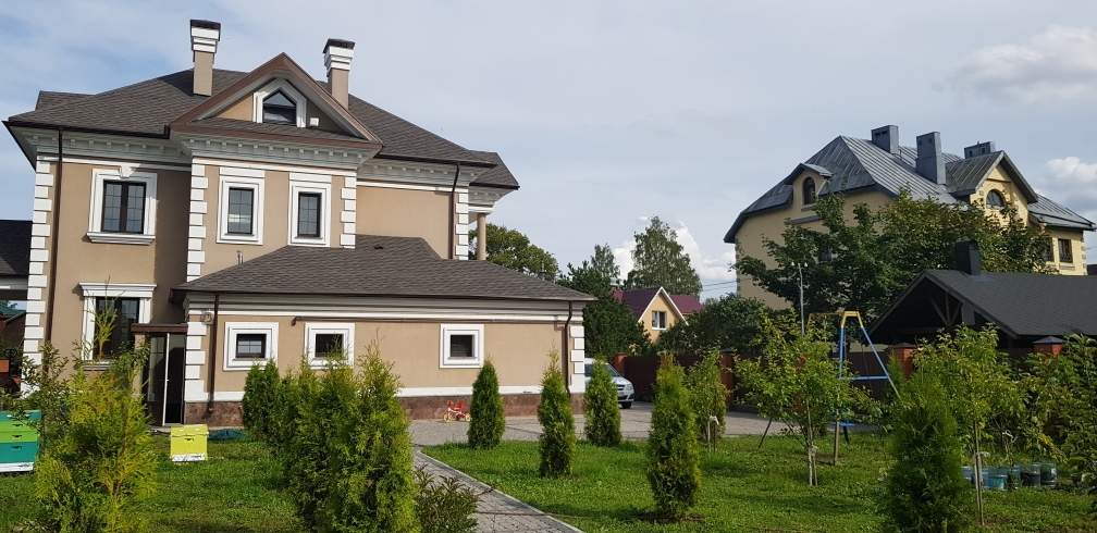 Продажа коттеджа 386м2, 4эт в черте города, Парголово, ул. Байкальская.