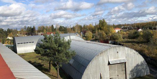 Продается производственно-складской комплекс «Ленлесторг» с ж\д веткой в Кировском районе г. Отрадное.