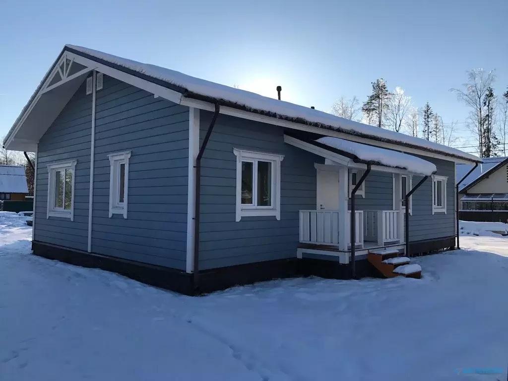 Продается отличный дом 112,9м2 с полной отделкой, ИЖС в д. Лупполово